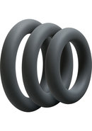 Optimale 3 C-ring Set Silicone Cock Ring Thick (3 Piece...