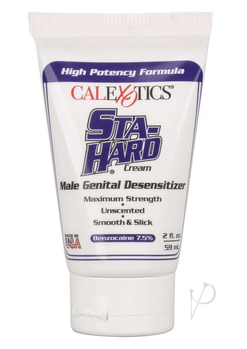 Sta-hard Cream Male Genital Desensitizer 2oz