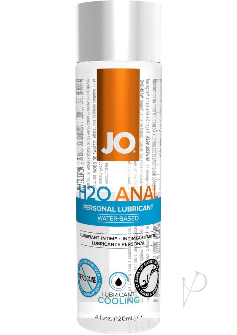 Jo H2o Anal Water Based Cooling Lubricant 4oz