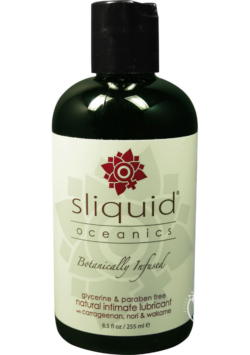 Sliquid Oceanics Organic Intimate Water Based Lubricant 8.5oz