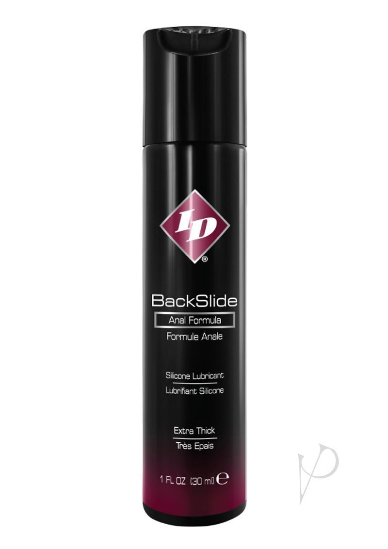 Id Backslide Silicone Anal Lubricant 1oz