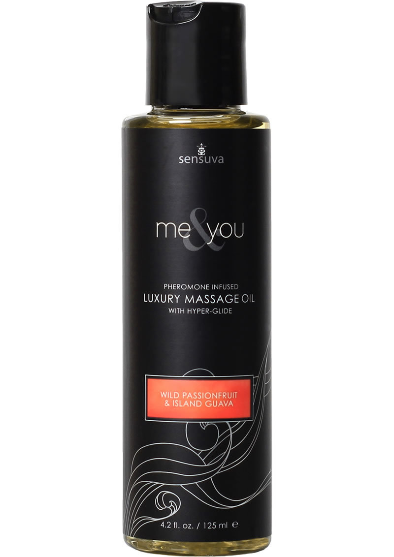Me And You Pheromone Infused Luxury Massage Oil Wild Passionfruit Island Guava 4.2oz