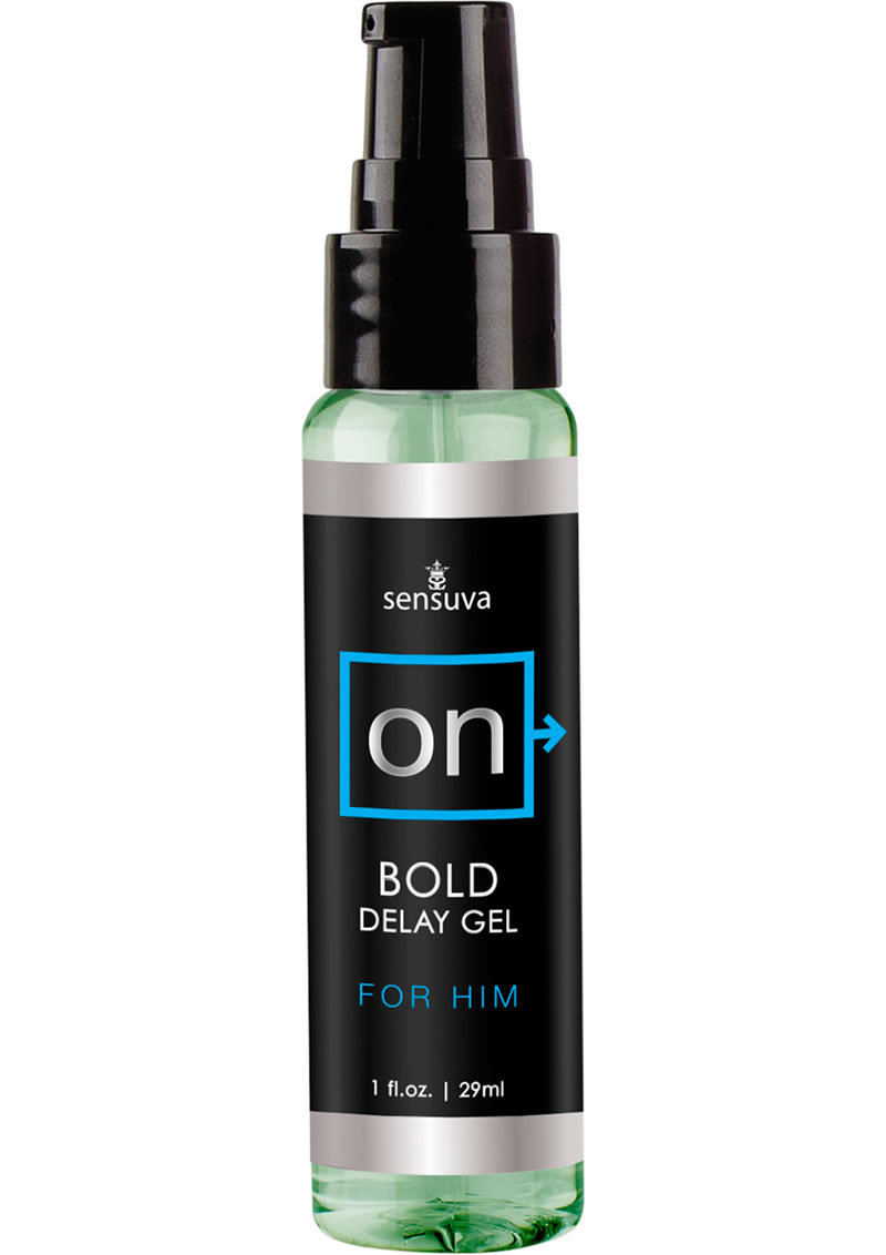On Bold Delay Gel For Him 1oz