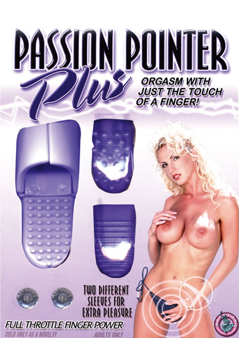 Passion Pointer Plus Finger Vibe With Sleeves - Lavender