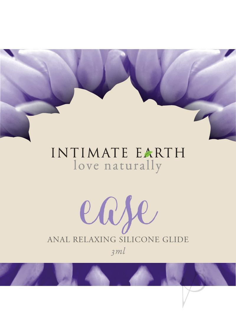 Intimate Earth Ease Relaxing Anal Silicone Glide Lubricant 3ml Foil