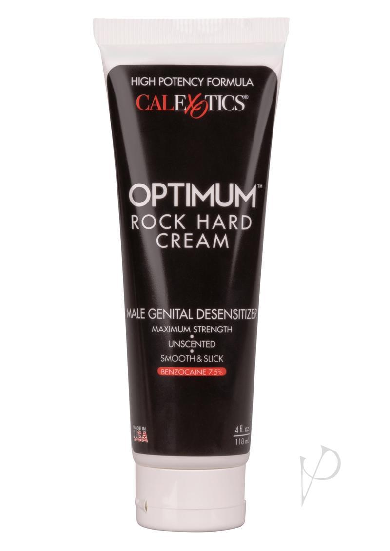 Optimum Rock Hard Cream Male Genital Desensitizer Cream 4oz (boxed)